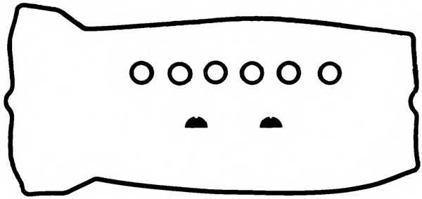 Комплект прокладок крышки головки цилиндра REINZ 15-29497-01 - изображение