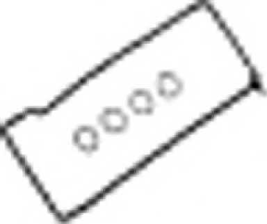 Комплект прокладок крышки головки цилиндра REINZ 15-31648-01 - изображение