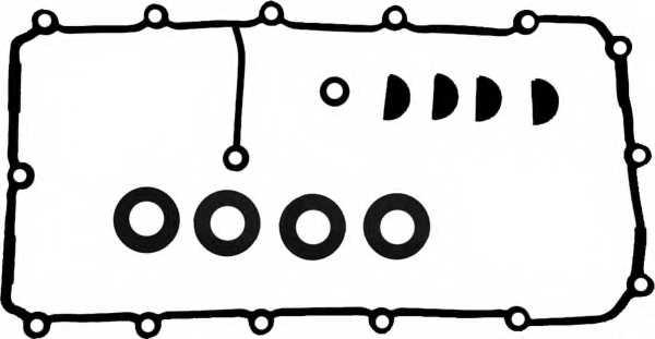 Комплект прокладок крышки головки цилиндра REINZ 15-36053-01 - изображение