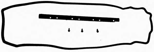 Комплект прокладок крышки головки цилиндра REINZ 15-36526-01 - изображение