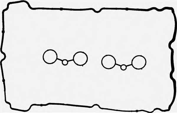 Комплект прокладок крышки головки цилиндра REINZ 15-37614-01 - изображение