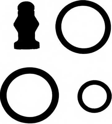 Ремкомплект распылителя REINZ 15-38642-02 - изображение