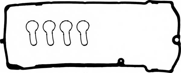 Комплект прокладок крышки головки цилиндра REINZ 15-41128-01 - изображение