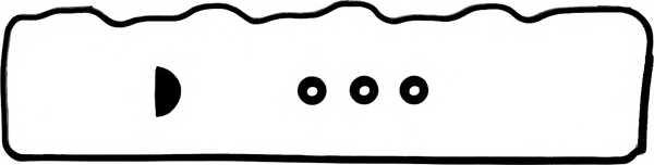 Комплект прокладок крышки головки цилиндра REINZ 15-52244-01 - изображение