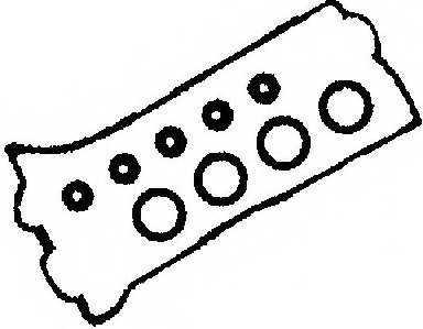 Комплект прокладок крышки головки цилиндра REINZ 15-52791-01 - изображение