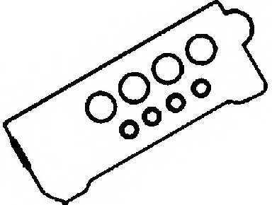 Комплект прокладок крышки головки цилиндра REINZ 15-53106-01 - изображение