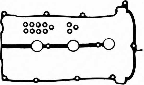 Комплект прокладок крышки головки цилиндра REINZ 15-53528-01 - изображение