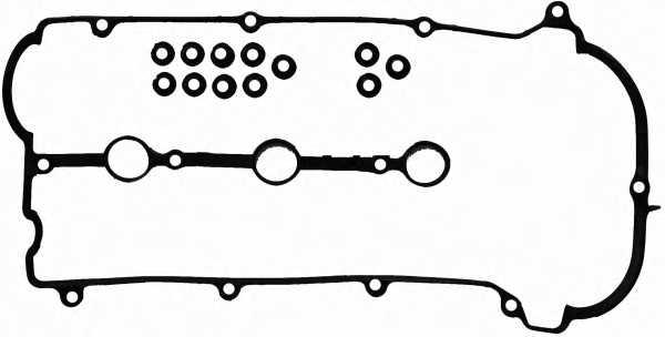Комплект прокладок крышки головки цилиндра REINZ 15-53529-01 - изображение