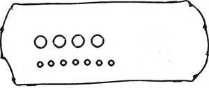 Комплект прокладок крышки головки цилиндра REINZ 15-53604-01 - изображение