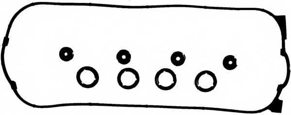 Комплект прокладок крышки головки цилиндра REINZ 15-53766-01 - изображение