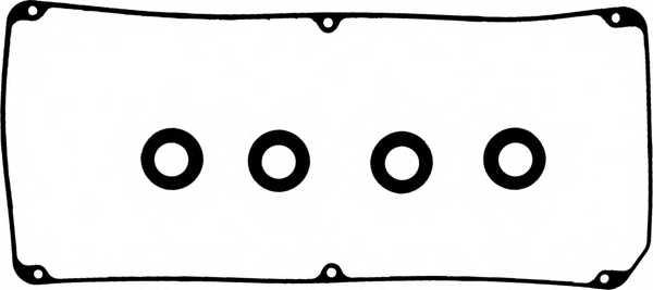 Комплект прокладок крышки головки цилиндра REINZ 15-53904-01 - изображение