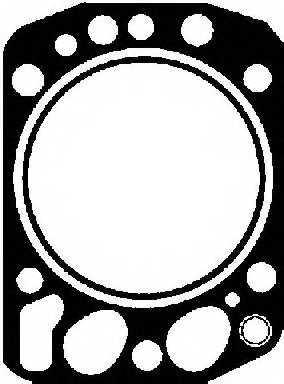 Прокладка головки цилиндра REINZ 61-25110-60 - изображение