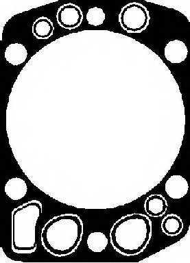 Прокладка головки цилиндра REINZ 61-25275-20 - изображение