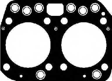 Прокладка головки цилиндра REINZ 61-26200-10 - изображение