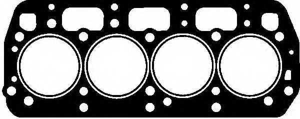 Прокладка головки цилиндра REINZ 61-27180-10 - изображение