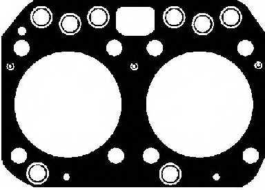 Прокладка головки цилиндра REINZ 61-27660-30 - изображение