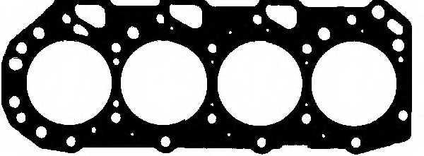Прокладка головки цилиндра REINZ 61-53365-00 - изображение