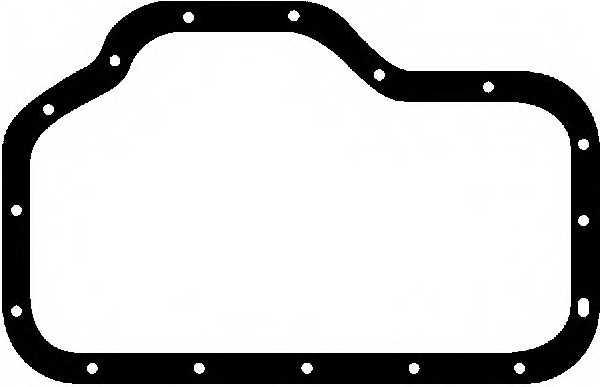 Прокладка, маслянная ванна REINZ 71-27554-00 - изображение