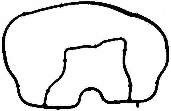 Прокладка впускного коллектора REINZ 71-35543-00 - изображение