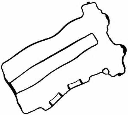 Прокладка крышки головки цилиндра REINZ 71-35888-00 - изображение