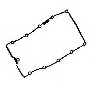 Прокладка крышки головки цилиндра REINZ 71-36048-00 - изображение