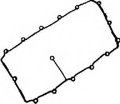 Прокладка крышки головки цилиндра REINZ 71-36053-00 - изображение