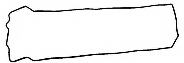 Прокладка крышки головки цилиндра REINZ 71-36526-00 - изображение
