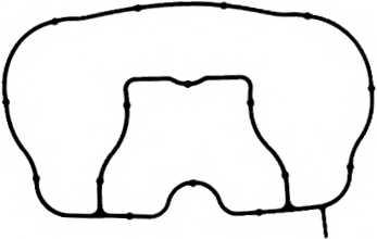 Прокладка впускного коллектора REINZ 71-36574-00 - изображение