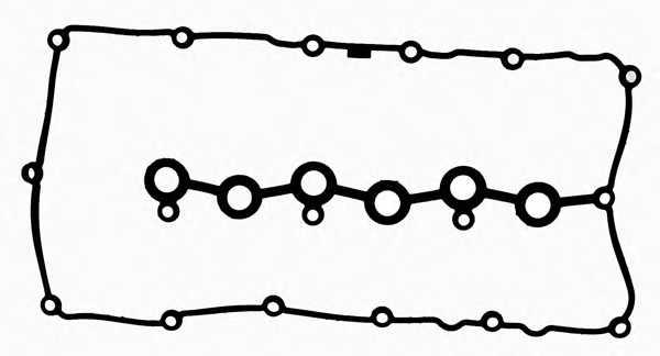 Прокладка крышки головки цилиндра REINZ 71-37556-00 - изображение