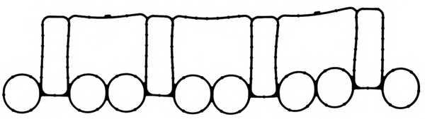 Прокладка впускного коллектора REINZ 71-37563-00 - изображение