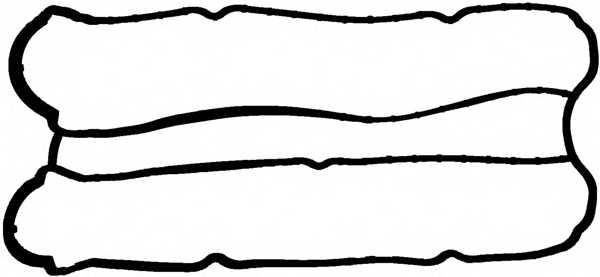 Прокладка крышки головки цилиндра REINZ 71-38086-00 - изображение