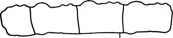 Прокладка впускного коллектора REINZ 71-40436-00 - изображение
