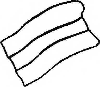 Прокладка крышки головки цилиндра REINZ 71-52566-00 - изображение