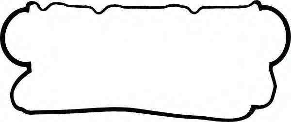 Прокладка крышки головки цилиндра REINZ 71-53536-00 - изображение