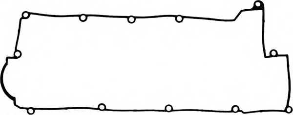 Прокладка крышки головки цилиндра REINZ 71-53976-00 - изображение