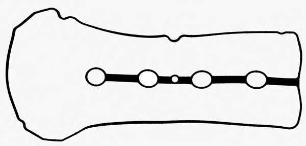 Прокладка крышки головки цилиндра REINZ 71-54053-00 - изображение