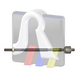 Осевой шарнир рулевой тяги RTS 92-90906 - изображение