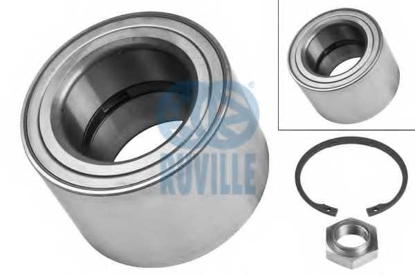 Комплект подшипника ступицы колеса RUVILLE 4049 - изображение