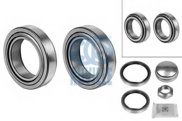 Комплект подшипника ступицы колеса RUVILLE 4077 - изображение