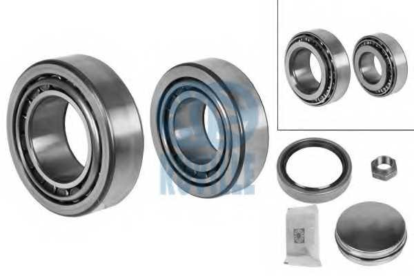 Комплект подшипника ступицы колеса RUVILLE 4096 - изображение