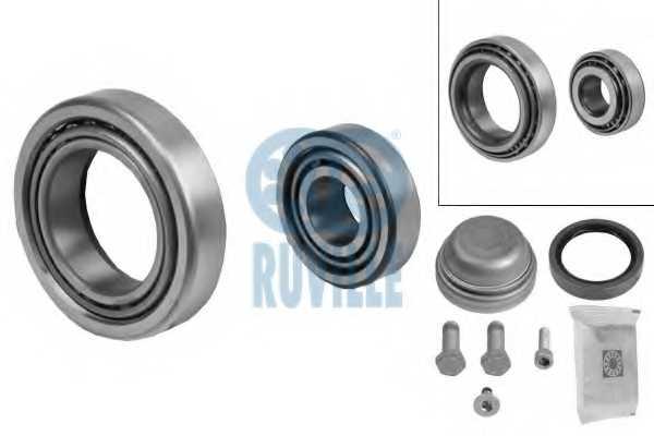 Комплект подшипника ступицы колеса RUVILLE 5124 - изображение