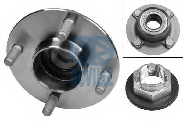 Комплект подшипника ступицы колеса RUVILLE 5243 - изображение