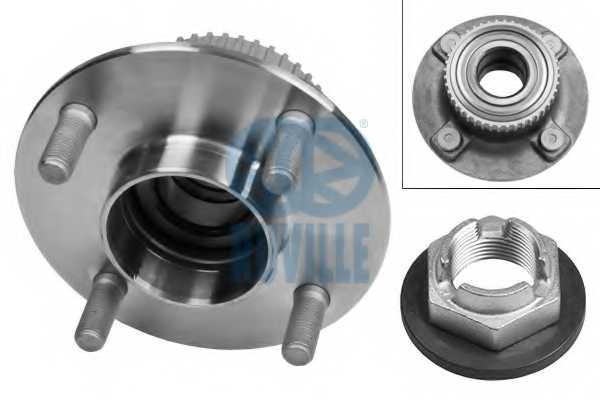 Комплект подшипника ступицы колеса RUVILLE 5244 - изображение