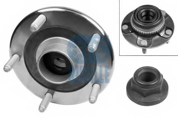 Комплект подшипника ступицы колеса RUVILLE 5266 - изображение