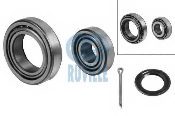 Комплект подшипника ступицы колеса RUVILLE 5307 - изображение