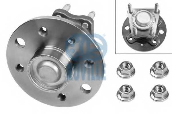 Комплект подшипника ступицы колеса RUVILLE 5322 - изображение