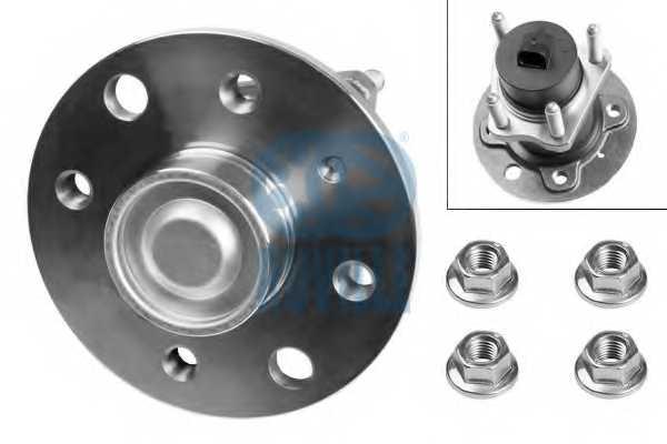 Комплект подшипника ступицы колеса RUVILLE 5323 - изображение