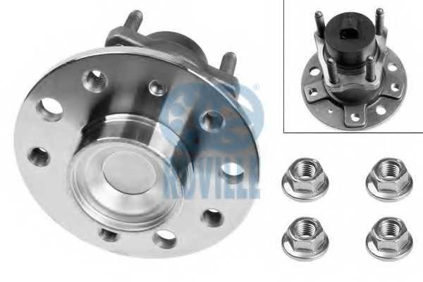 Комплект подшипника ступицы колеса RUVILLE 5327 - изображение