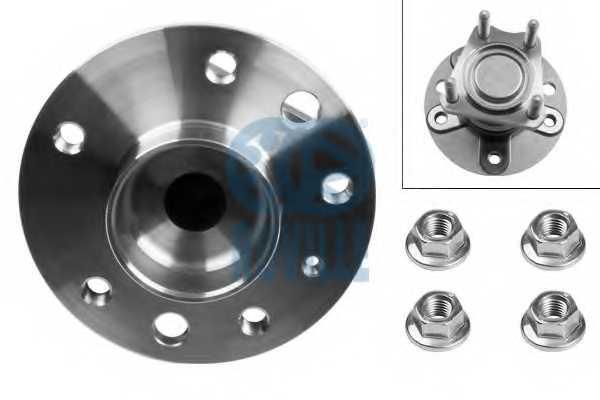 Комплект подшипника ступицы колеса RUVILLE 5334 - изображение