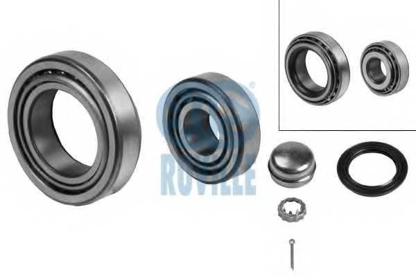 Комплект подшипника ступицы колеса RUVILLE 5413 - изображение